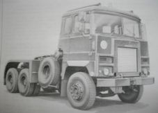Scammell Crusader tractor.  35 tonne, 6x4. llustrated parts catalogue.